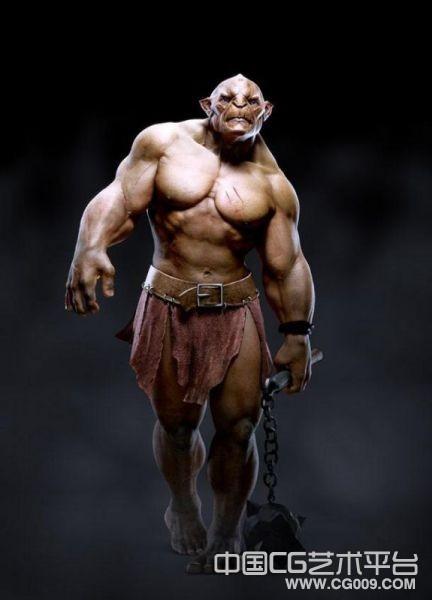铁锤猛男写实模型写实怪物觉得模型i下载 有贴