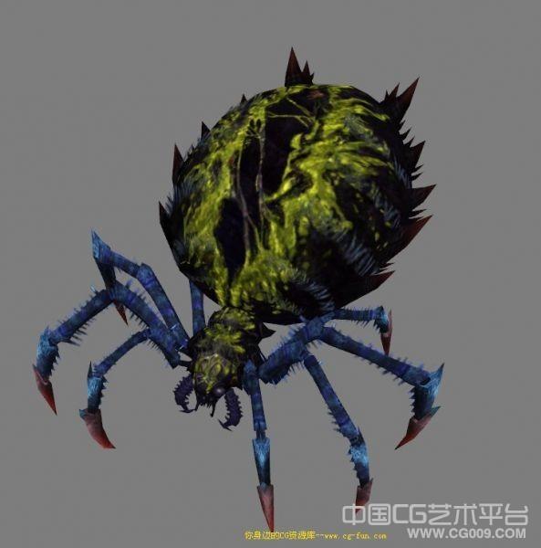史上毒性最强的土蜘蛛3d模型下载