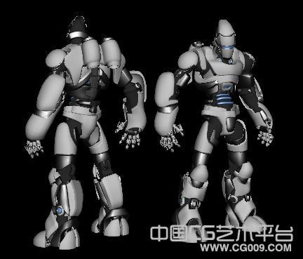 高精大型机器人士兵模型下载    3D机器人模型下