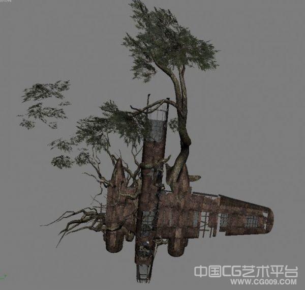 大型写实游戏场景-古墓丽影9场景模型分享