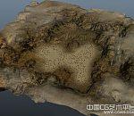 大型黄土盆地景观模型下载 带贴图
