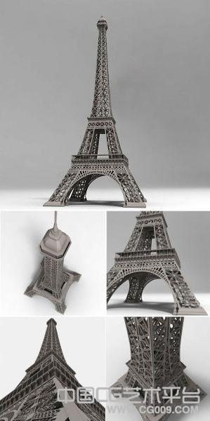 埃菲尔铁塔模型下载