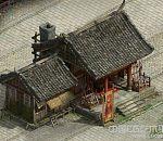 写实中国古代铁匠房武器店建筑高模带贴图 写实