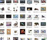 各种游戏坐骑角色原画大合集总共300多张