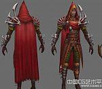 凶恶的强盗游戏角色模型,盗贼角色模型,海盗