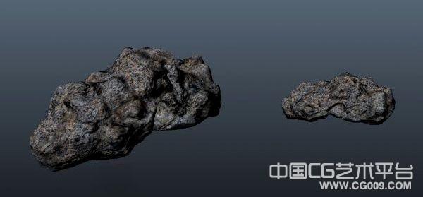 写实类游戏石山场景模型下载