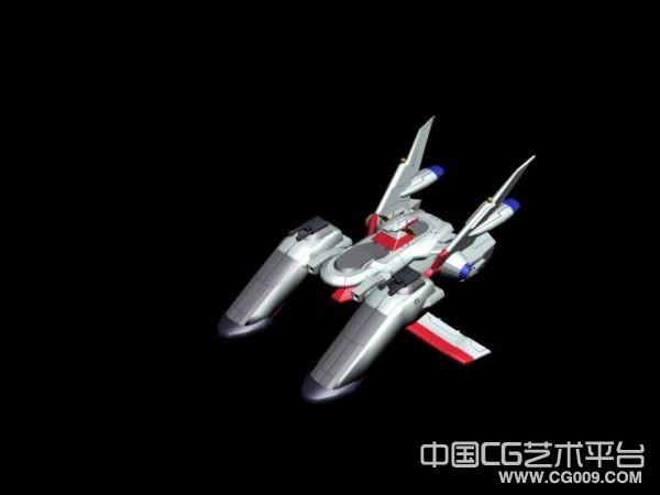 大天使号飞船模型