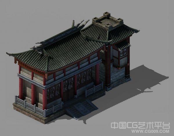 论坛福利-免费给大家送一个高品质3D建筑模型给