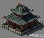 高精3d古建筑模型下载 有完整贴图