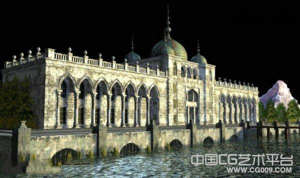 威尼斯水城建筑模型下载