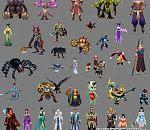 80个《倩女幽魂》3D角色模型资源免费下载