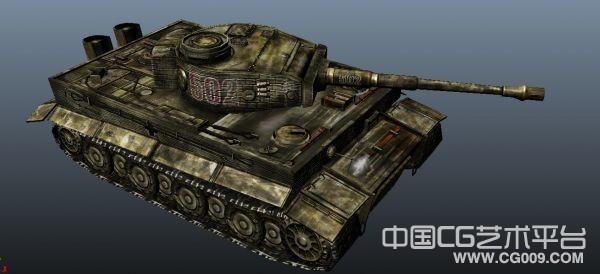 虎式坦克带贴图