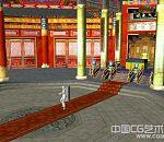 皇帝早朝太和殿场景模型下载