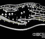 卡丁车赛道地图3d场景模型下载