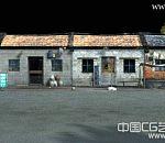 老家写实街景3d场景模型下载