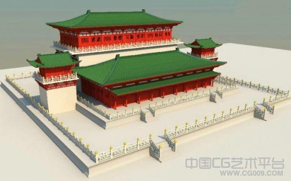 一个皇家建筑模型分享