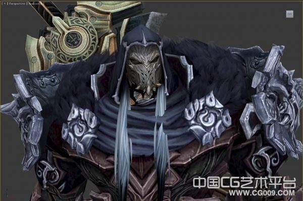 【黑暗血统2】Destroyer Abaddon精品3d角色模型下载