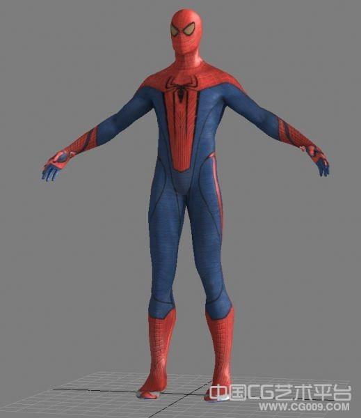 超凡蜘蛛侠高精模型