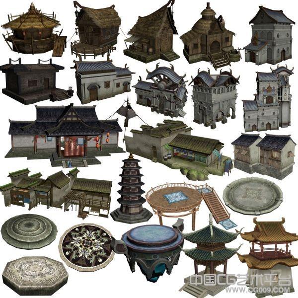 《倩女幽魂》134个精品建筑房子房屋古代场景