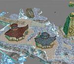 永恒之塔魔族写实场景模型下载