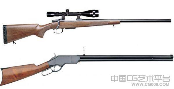 2条枪支模型下载