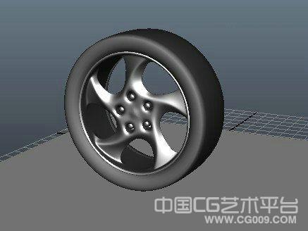 汽车轮胎模型 3d论坛模型下载
