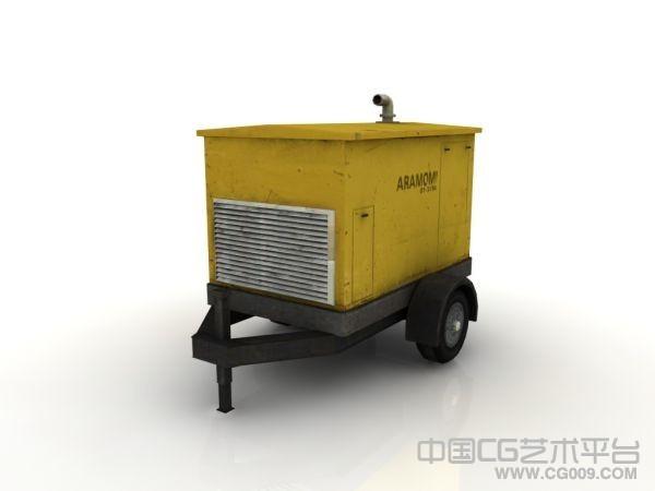 一个工具车模型下载