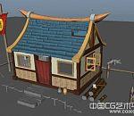小酒馆场景模型下载、maya酒馆模型