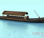 很精细的maya木船模型下载