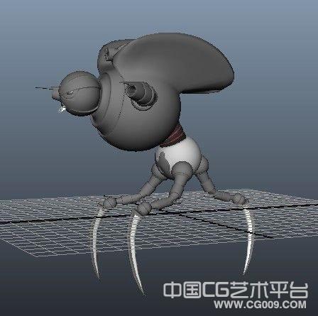 机械老鼠模型、变异老鼠机器人模型