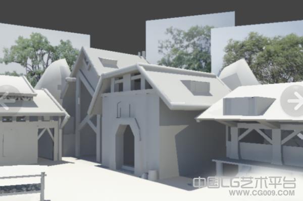 木房子3d模型,带贴图