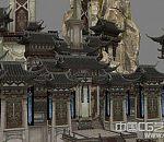 【笑傲江湖】华山全景大气场景模型下载