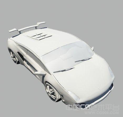 2辆街道跑车下载高模 带街道场景模型