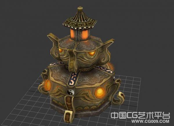 不错的炼丹炉3d模型下载