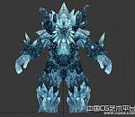 3d寒冰怪物角色模型下载  石头怪物模型