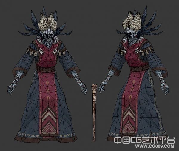 老巫师3d人物模型下载