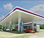 加油站3d写实建筑模型下载
