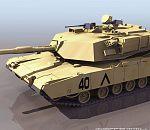 自己做的一个坦克模型  带贴图 喜欢的拿走