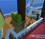 海贼王-路飞海贼团的桑尼号海盗船模型下载