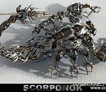 机器蝎子模型Scorponok Transformer Model