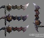 【魔兽世界】千创之脊冷兵器游戏模型下载