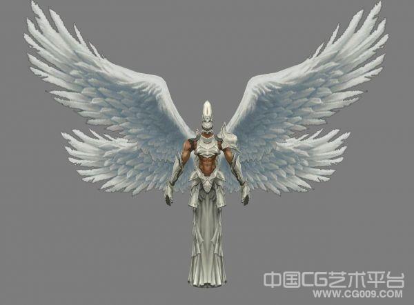 不错的游戏天使模型下载 值得收藏