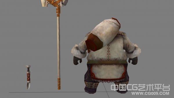 赤壁-雪山怪人模型下载