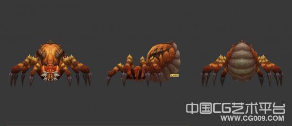 【斗战神】毒蜘蛛3d模型下载