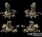 皇陵石雕3d模型下载