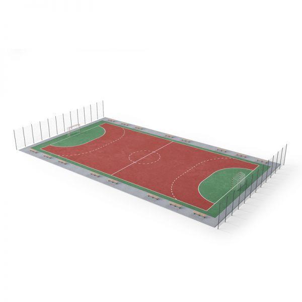 各种各样的球类体育设施3d模型下载