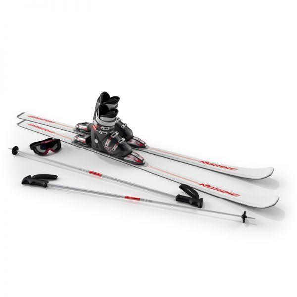 2套滑雪橇3d模型下载