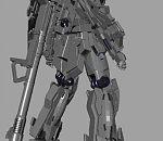 高达3D模型下载  maya高达模型下载  带武器装备