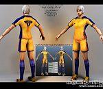 足球运动员人物模型下载