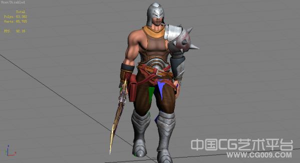 次时代战士3d模型下载 带动作 带贴图